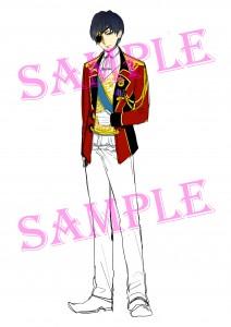 【SAMPLE入り】王子ラフ