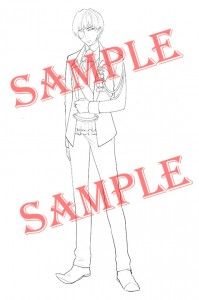 【SAMPLE入り】王子線画